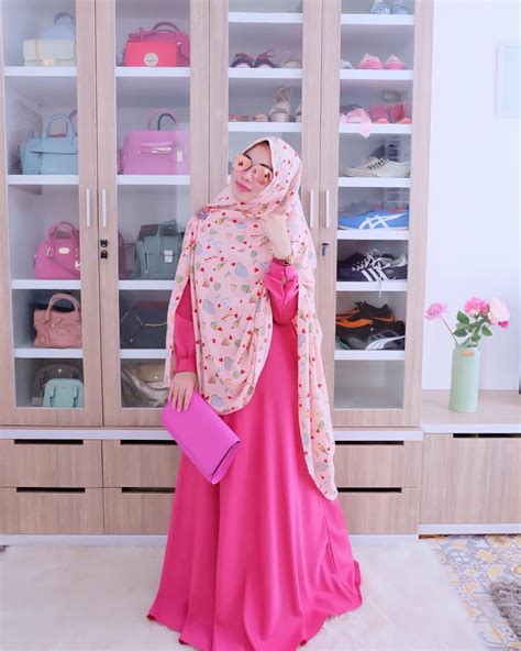 gamis pesta simple 18 model baju muslim remaja 2018 terbaru stylish casual
