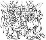 Pentecost Coloring Spirit Holy Pages Gifts Celebrate Filled Acts Commerating Sunday Ducha świętego Zesłanie Printable Szukaj Google Catholic Duch Print sketch template