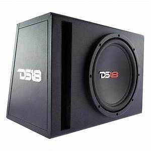 Ds18 Bass Package  10 U0026quot  Subwoofer In Mdf Enclosure With
