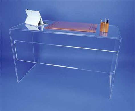 bureau en plexiglas bureaux et tables plexi