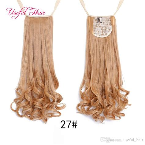 Synthetic Hair Ponytails Long Lady Ponytail Hair