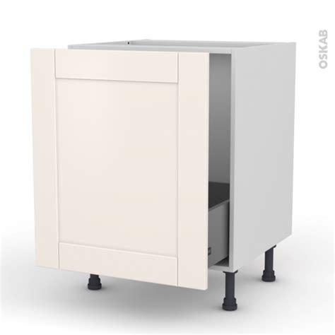 meuble cuisine porte coulissante meuble de cuisine sous évier filipen ivoire 1 porte