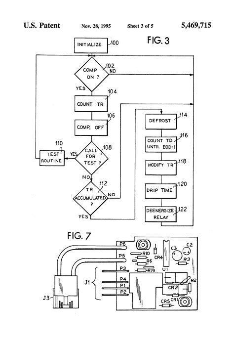 patent us5469715 defrost cycle controller patents