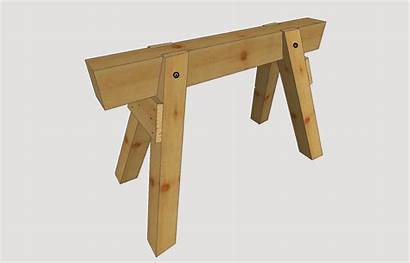 Bauen Selber Holz Bauanleitung Anleitung Ratgeber Arbeitsbock