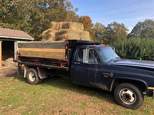 1987 Chevy C30 Dump Truck Collector Classic 73k 350 V8