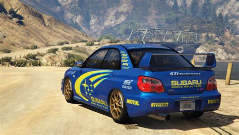 World Rally Team by Subaru Impreza Wrx Sti 2004 World Rally Team Livery