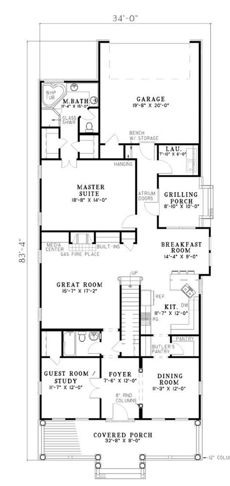 floor plans rear garage 60 best images about house plans for randy on pinterest bonus rooms entry foyer and bath
