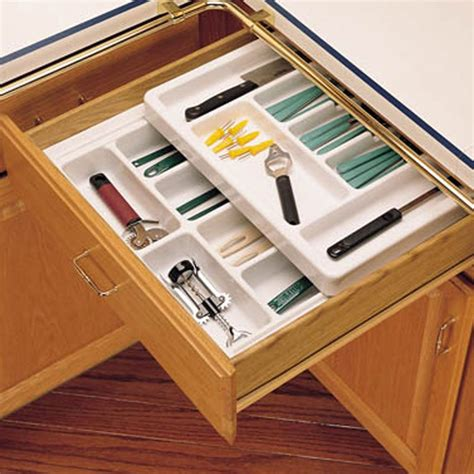 rolling tray kitchen drawer organizers rev  shelf rt