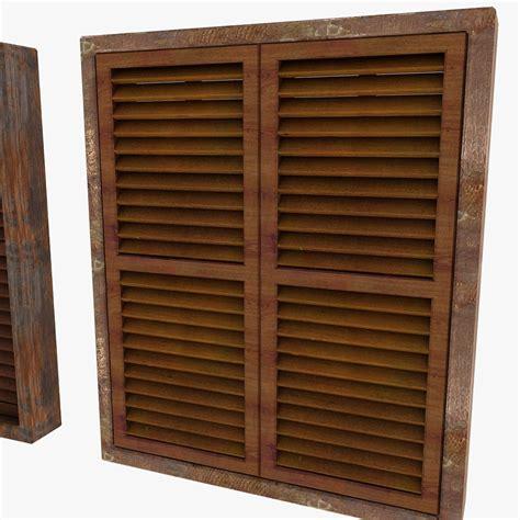 Wooden Window Ledge by Wooden Window Shutter Frame Sill Ledge Parapet 3d Models