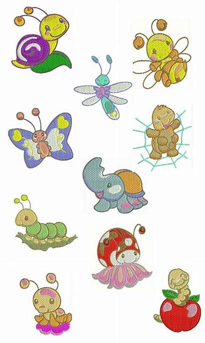 Embroidery Designs Brother Pes Machine Butterfly Newdesignfile