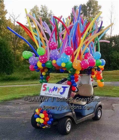 golf cart decoration  fenton area chamber golf