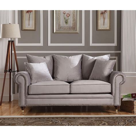 Grey Sofa by Hton 2 Seater Grey Sofa Sofa Homesdirect365