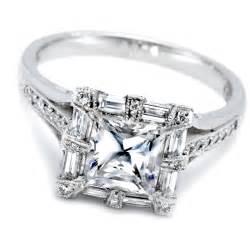 womens wedding rings princess cut wedding rings