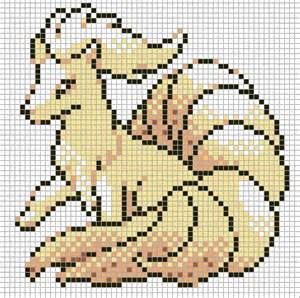 Pokemon Pixel Art Grid