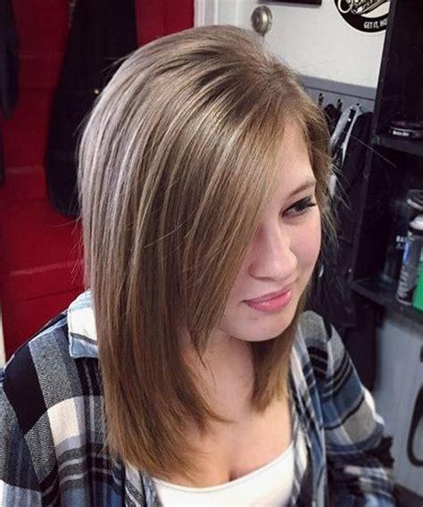 stylish mid length layered hairstyles   teenage