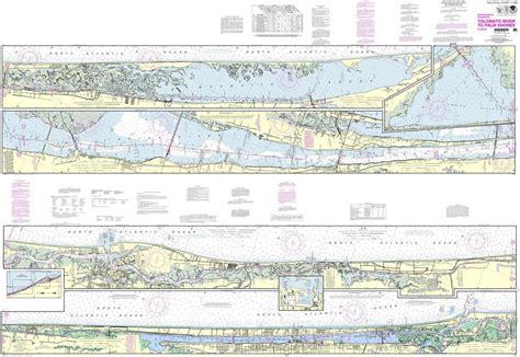 noaa chart  intracoastal waterway tolmato river  palm shores