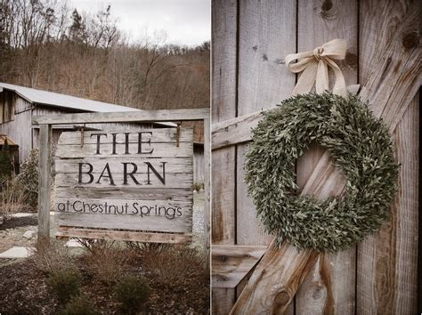 The Barn At Chestnut Springs by Winter Mountain Wedding At The Barn At
