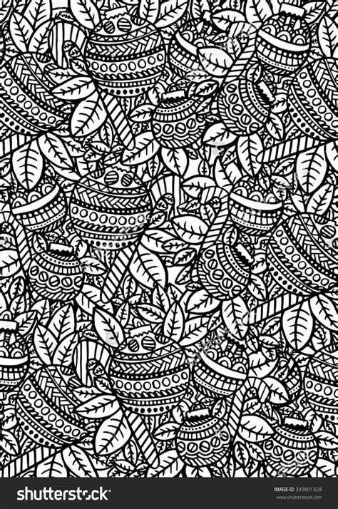 christmas baubles coloring page zentangle pattern