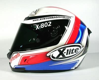 x lite 802 racing helmets garage x lite x 802 a badovini 2012 by shock design