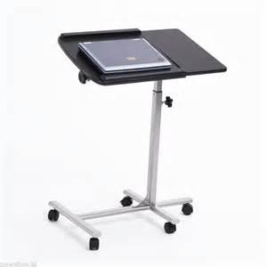 Portable Rolling Laptop Desk Table