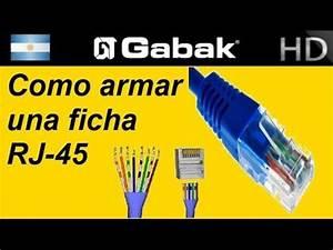 Teoria Del Armado Rj45 Recto Y Cruzado  Cable De Red