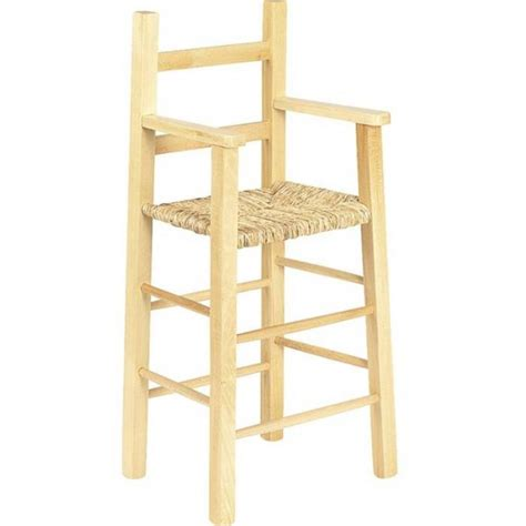 chaise en bois enfant chaise haute enfant bois naturel