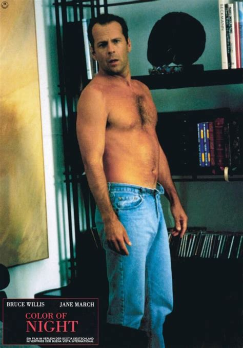bruce willis color of bruce willis shirtless color of bruce willis