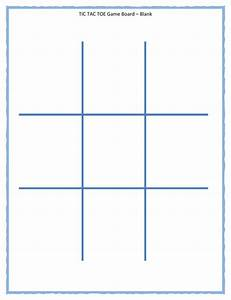 Download Tic Tac Toe Template For Free