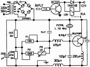 Circuit Of The Ultrasonic Nebulizer