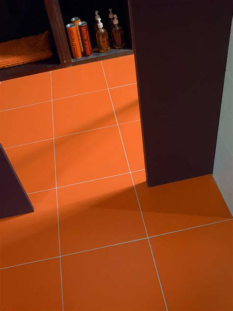 orange tiles view  collections marazzi