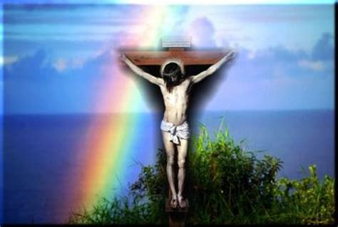 christian rainbow jesus   backgrounds