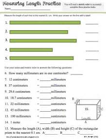 Reading Metric Ruler Worksheet
