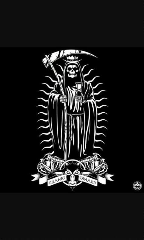 Santa muerte | Skull art, Chicano art, Art tattoo