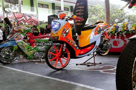Modifikasi Motor Classic by 42 Foto Gambar Modifikasi Fino Thailook Style Simple
