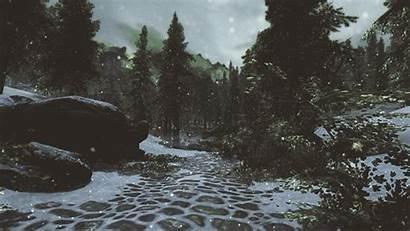 Snow Falling Skyrim Elder Scrolls Tes Edits