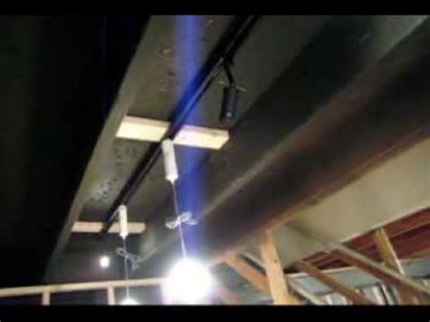 how to install track lighting youtube basement ceiling and lighting idea youtube