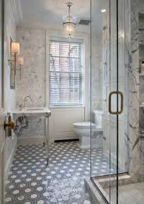 period homes interiors magazine gray marble hex floor tile design ideas
