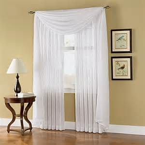 caprice sheer rod pocket window curtain panels bed bath beyond
