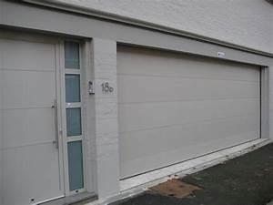 portes de service pour portes de garage smf services With porte de garage avec porte de service