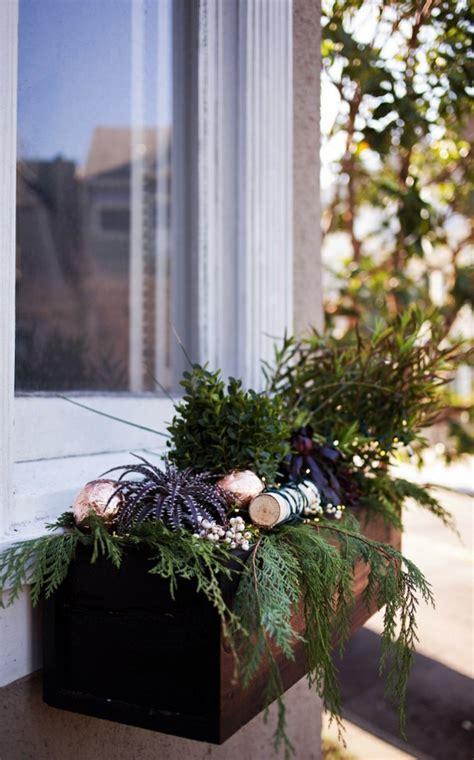 ideen zum thema fensterbank weihnachtlich dekorieren
