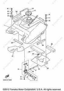 Yamaha Atv 2001 Oem Parts Diagram For Fuel Tank