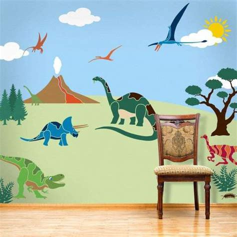 Childrens Bedroom Stencils by Wall Mural Stencil Kits For Painting Rooms And