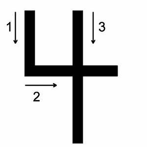 Number 4 Printing Worksheet Number And Word