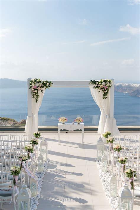 Blissful I Dos With An Ocean View In Santorini Santorini