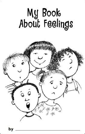 my book about feelings printable maybe make one book for 456 | f55e363ff4b550b79f2e0964f40e7b6a