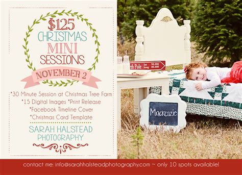 christmas mini photo sessions in virginia beach