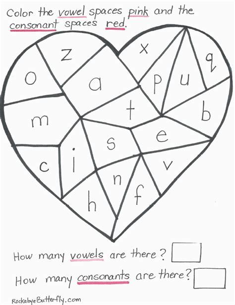printable worksheets 187 vowels and consonants worksheets