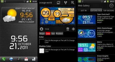 best android clock widget best android clock widgets