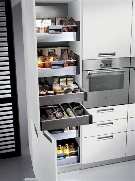 kitchen pull out storage units pull out larder home d storage ideas 4 my puny apt 8401