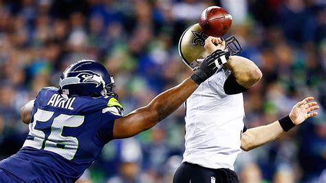 seahawks defense    drew brees   faced